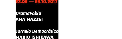 Informações da exposição - Galeria Jaqueline Martins